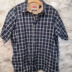 Wrangler Premium Quality Short Sleeve Button Down